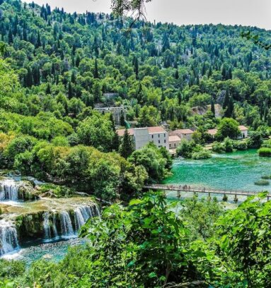Split to Zadar Transfer via Krka Waterfalls