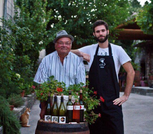 croatia driver guide - local farm to table lunch